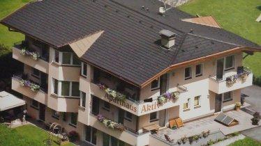 Aparthaus Aktiv Hausfoto von Oben