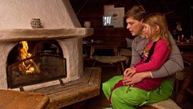 Hütteneinkehr auf der Stallenalm Steinplatte, © Defrancesco