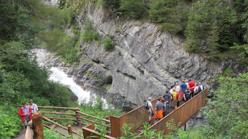 Plattform Umballfälle, © Nationalpark Hohe Tauern