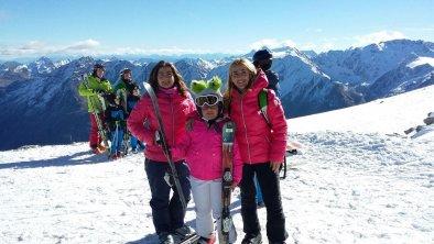 Schifahren am Gletscher