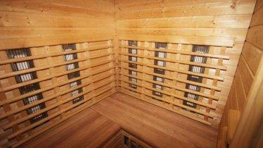 Sauna drinnen