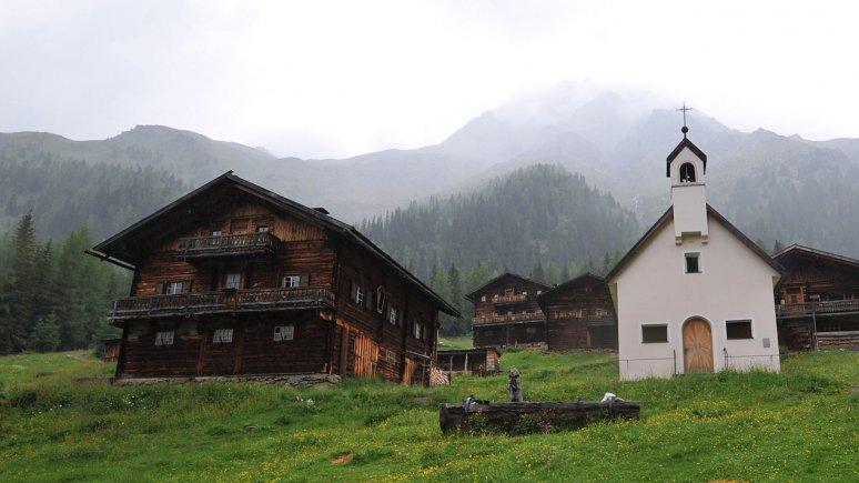 Oberstalleralm_Kapelle, © Tirol Werbung/Bernhard Aichner