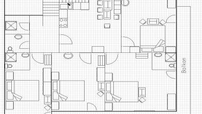 Skizze Apartment_Folie Margit