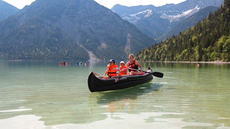 Karibik oder doch Tirol? Familienurlaub am Plansee bei Reutte.