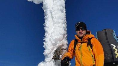 imposantes Gipfelkreuz