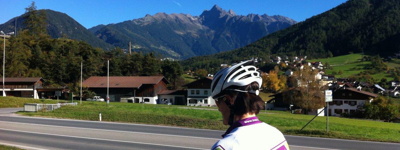 "E-Bike Tour ""Am Fuße des Tschirgant"" in Imst, © Imst Tourismus"