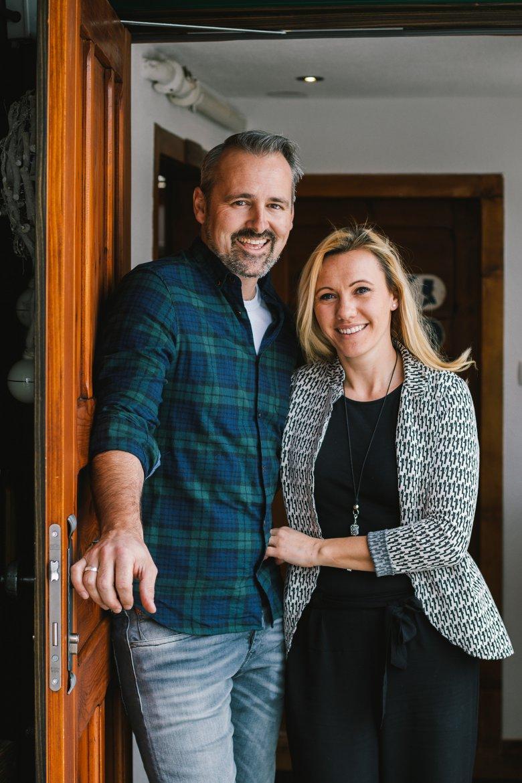 Dave Bradley und Miriam Scherl öffneten ihre Türen für Netflix.
