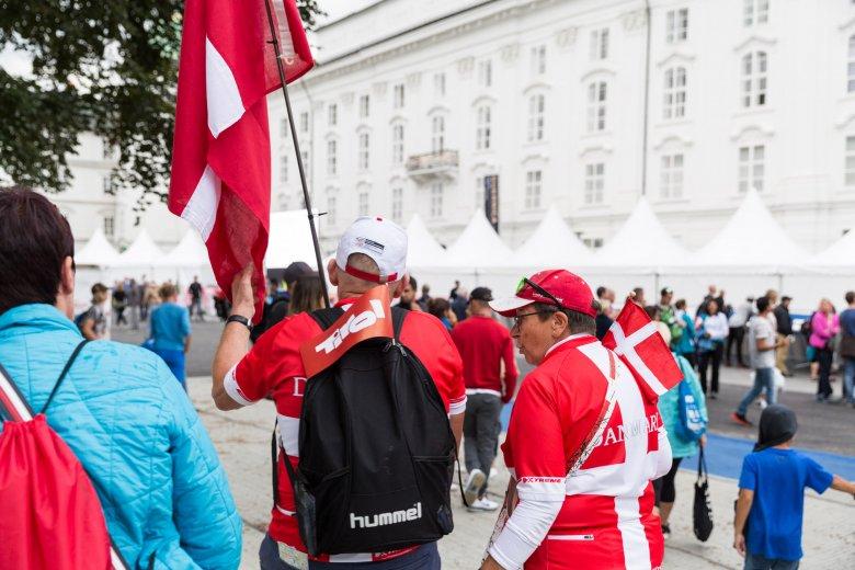 Fans aus Dänemark