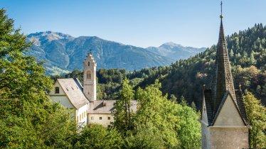 St. Georgenberg oberhalb der Wolfsklamm, © Silberregion Karwendel