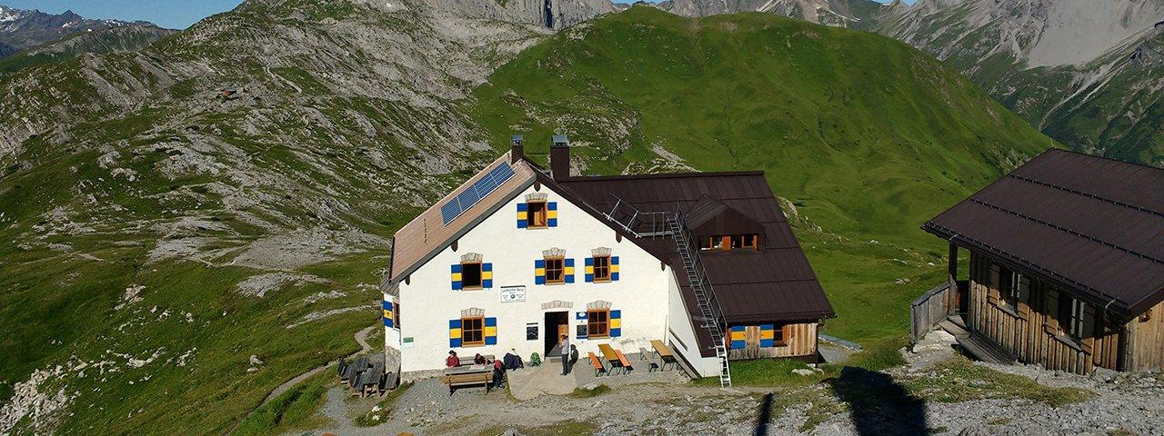 Adlerweg-Etappe 24: Leutkircher Hütte, © Tirol Werbung/Michael Walzer