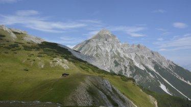 Blick vom Blaser auf den Serles, © Tirol Werbung / Wolf Helene