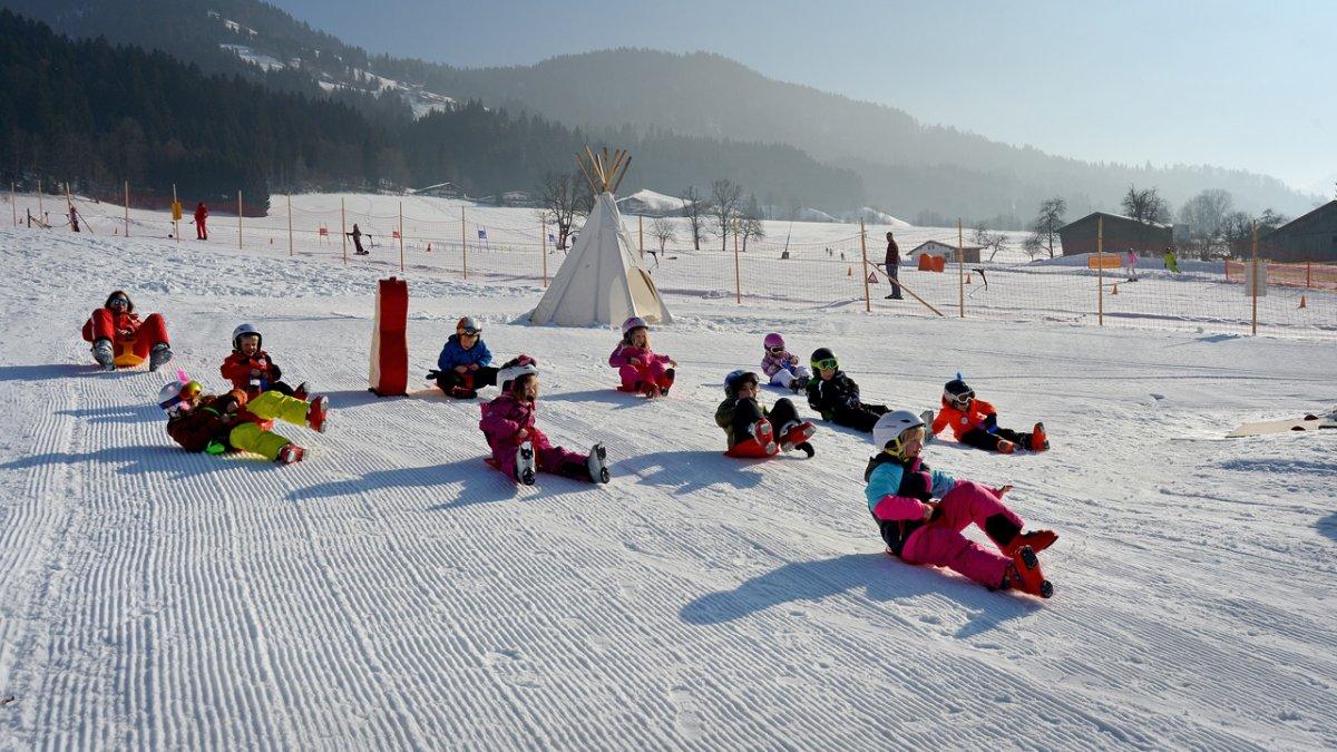 Skiurlaub mit der Familie in der Region Kitzbüheler Alpen - Hohe Salve, © Hannes Dabernig