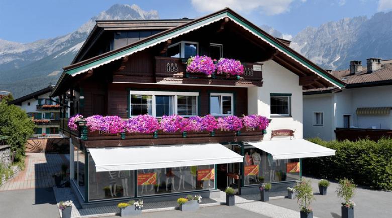 Das Hostel Alpking in Ellmau.