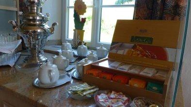 exklusive Teeauswahl von Ronnefeld, © Rainer Eisendle