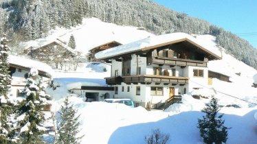 Gästehaus Elfriede im Winter