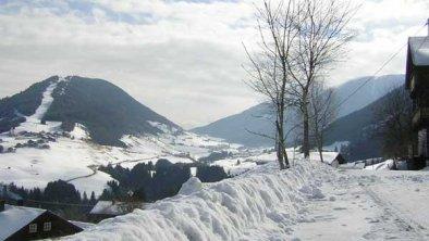 Blick auf das Dorf Kartitsch