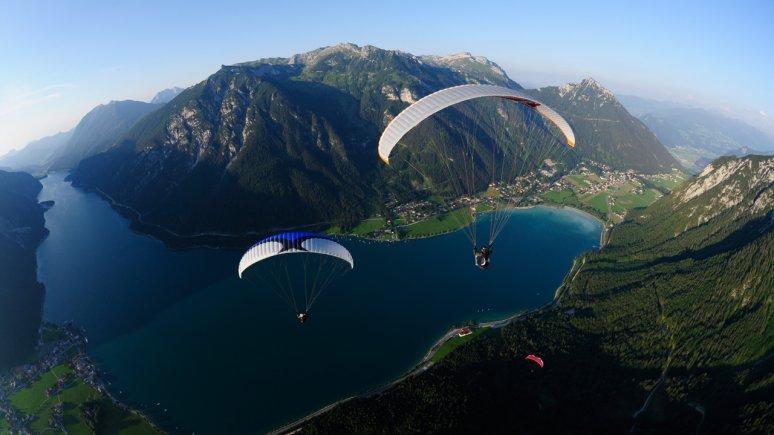Paragleiten am Achensee, © Fly Achensee