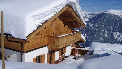 Chalet Alpengarten Hausansicht Winter, © Schiestl Margarethe