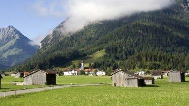 Vorderhornbach im Sommer, © Naturparkregion Lechtal