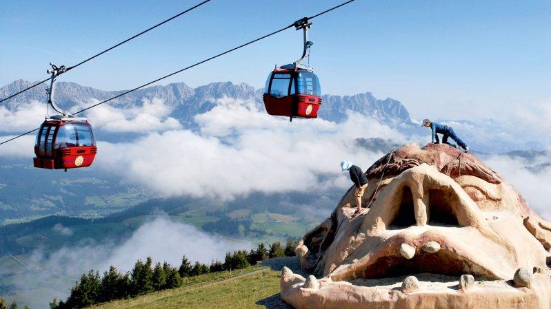 Gondelbahn Hohe Salve, © Skiwelt Wilder Kaiser