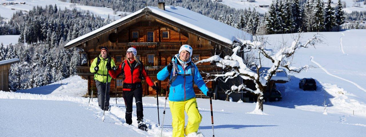 Schneeschuhwandern in den Kitzbüheler Alpen, © Norbert Eisele-Hein