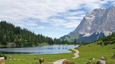 Seebensee, im Hintergrund die Zugspitze, © Tirol Werbung/Markus Jenewein