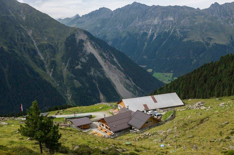 Die Juifenalm ist einer der vielen Almen im Sellrain. , © Tirol Werbung, Jörg Koopmann