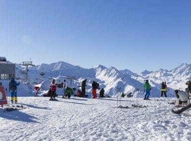 Skifahren in Ischgl am 27.11.2015