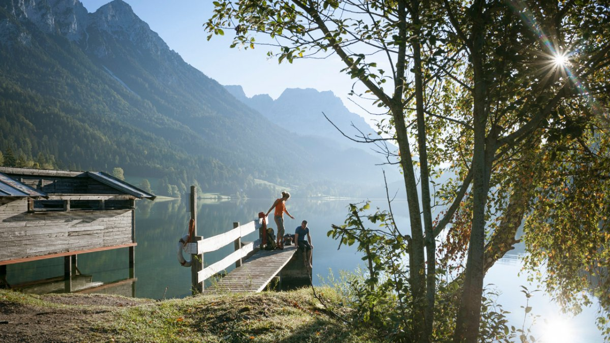 Adlerweg: Zwischenstopp am Hintersteiner See, © Tirol Werbung