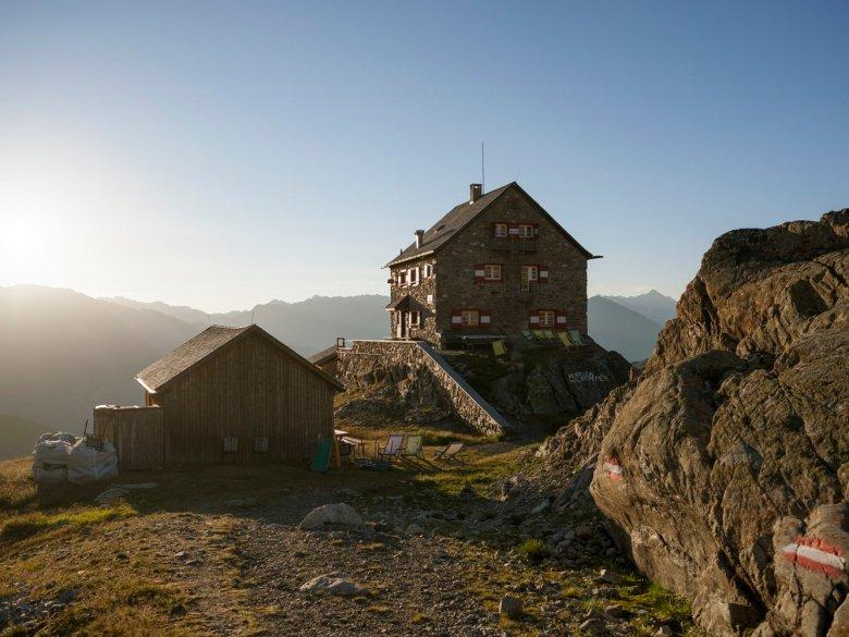 Erlanger Hütte. , © Tirol Werbung, Jens Schwarz