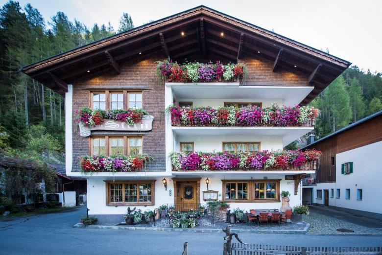Das Kräuterhotel Stern in Steeg im Lechtal