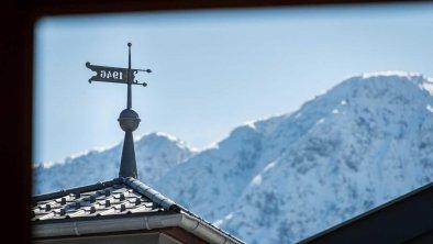 Aussicht auf die Berge - Appartementhaus Alpenrose