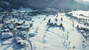 Lenerwiese-Hundeloipe (A2) in Seefeld in Tirol, © Olympiaregion Seefeld / bizcomburnz