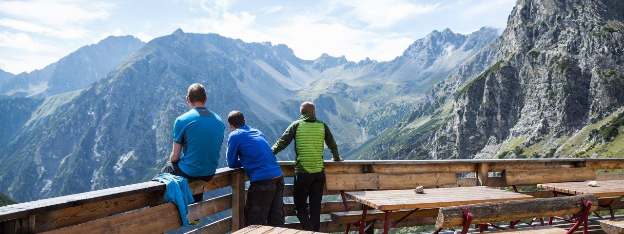 Ausblick von der Steinseehütte, © Tirol Werbung/Dominik Gigler