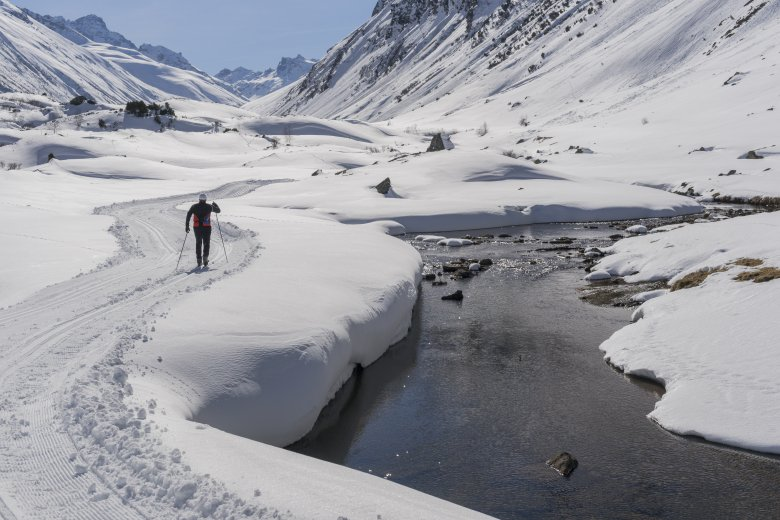 Höhenloipe Silvretta – Bielerhöhe, © TVB Paznaun Ischgl
