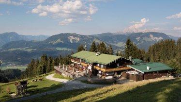 Die Angerer Alm bei St. Johann in Tirol