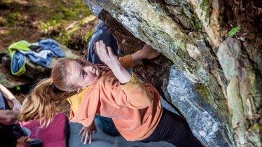 Bouldern in Ritzenried im Pitztal, © TVB Pitztal