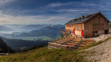 Die Gruttenhütte am Fuße des Wilden Kaisers., © Ralf Gantzhorn