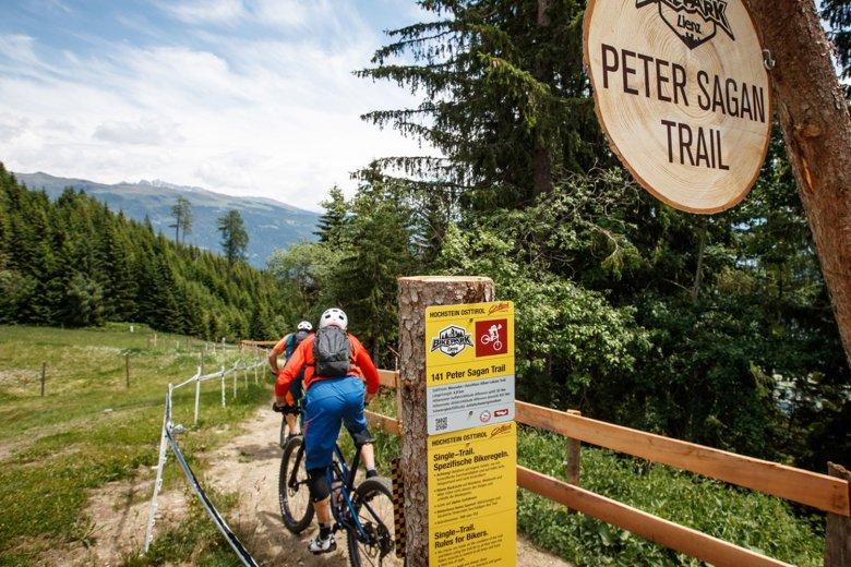 Peter-Sagan-Trail. Foto: TVB Osttirol/Erwin Haiden, bikeboard.at