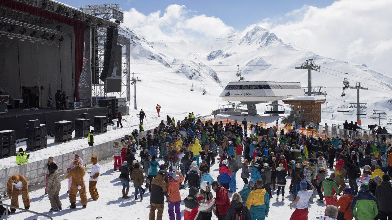 Top of the Mountain Concert Ischgl, © Tirol Werbung/Verena Kathrein