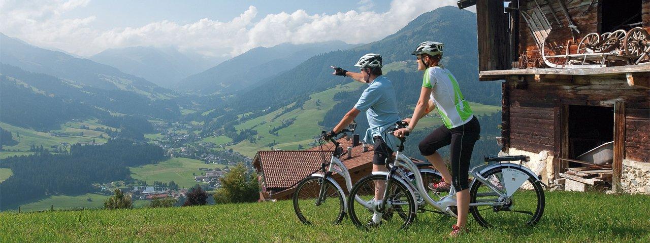 E-Biken im Brixental, © Kurt Tropper