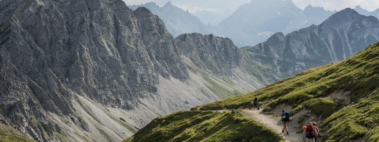 Weg von der Gappenfeld Alpe zur Landsberger Hütte, © Tirol Werbung / Peter Neusser