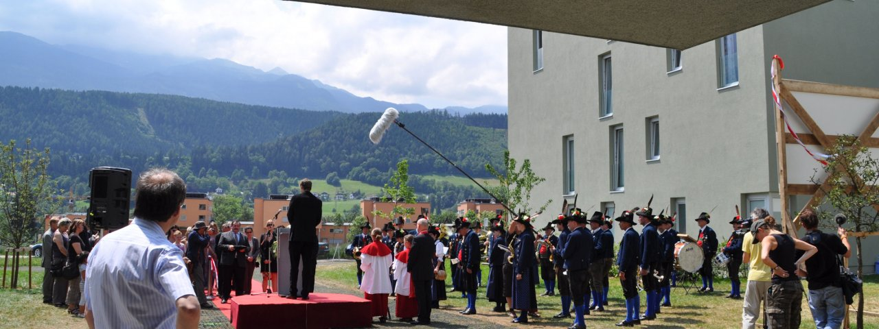 Tatort-Dreharbeiten in Hall in Tirol, © Region Hall-Wattens