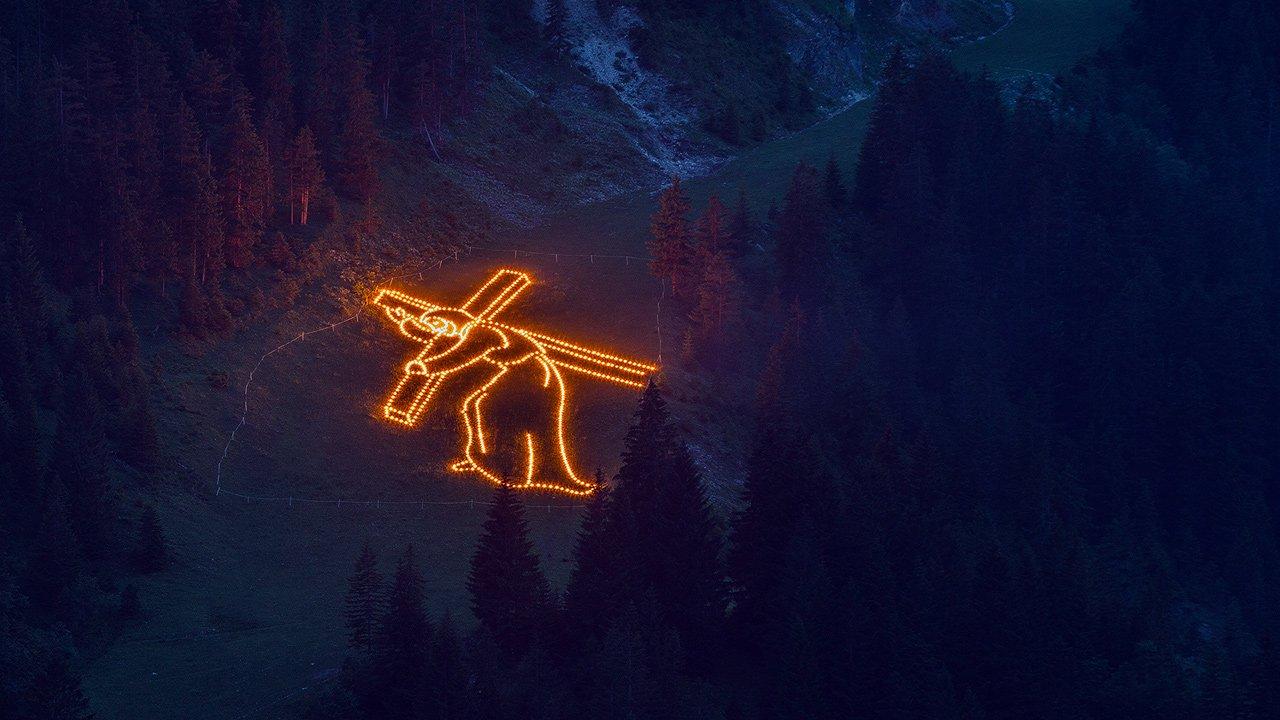 Herz-Jesu-Feuer im Tannheimer Tal, © TVB Tannheimer Tal