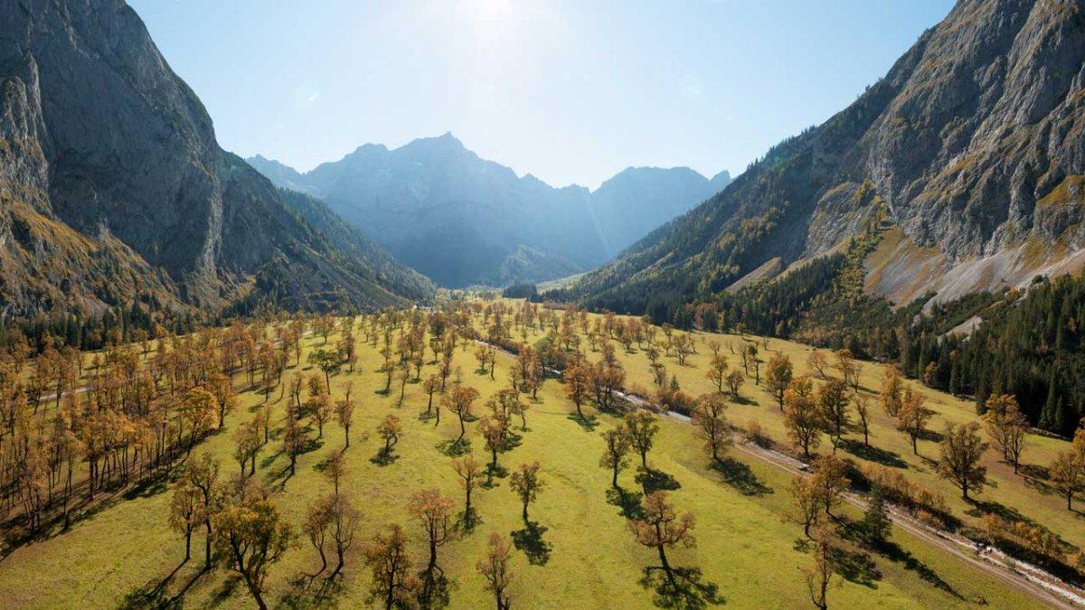 Herbsturlaub in Tirol: Großer Ahornboden, © Tirol Werbung/Mario Webhofer