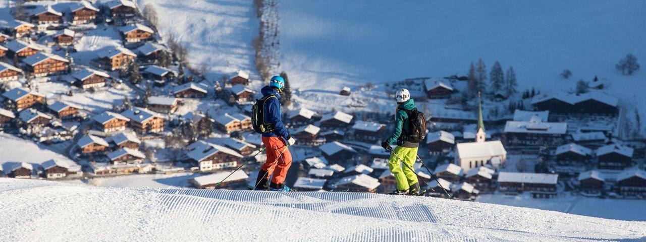 Skifahren in Alpbach, © Ski Juwel Alpbachtal Wildschönau