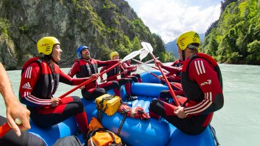 Rafting in der Imster Schlucht, © Area47