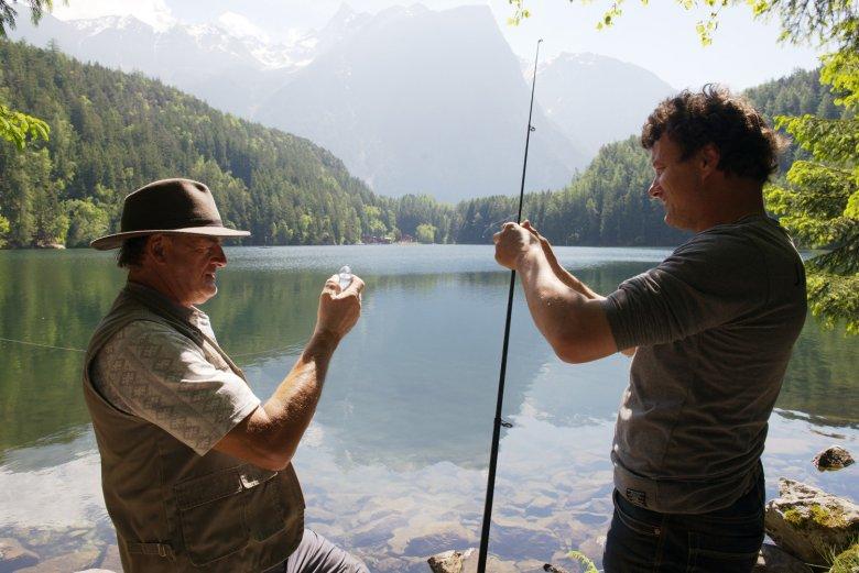 Fischen im Piburger See. , © Tirol Werbung/Mario Webhofer