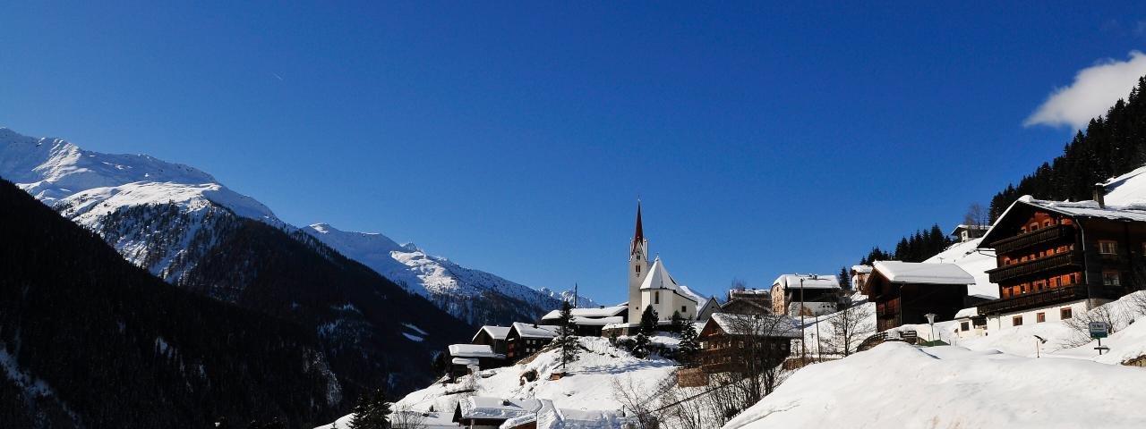 St Veit im Defereggen im Winter, © Urlaubsregion Defereggental/Oblasser
