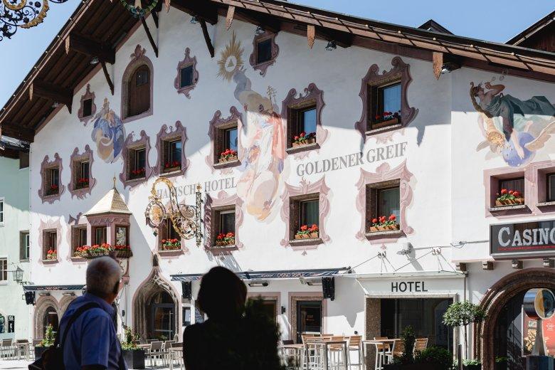Das Hotel Goldener Greif wurde erstmal 1270 erwähnt. , © Maria Kirchner